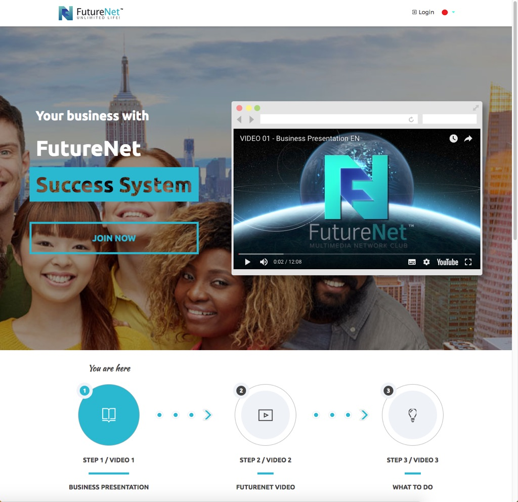 Futurenet success system image